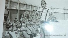 Antigua fotografia de la Legion española en el Sahara. - Foto 2