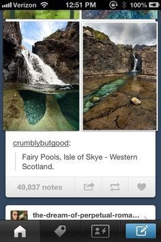65 Ideas Travel Ireland Fairy Pools Skye Scotland For 2019 Vacation Places, Vacation Destinations, Dream Vacations, Vacation Spots, Places To Travel, Places Around The World, Around The Worlds, Destination Voyage, All Nature