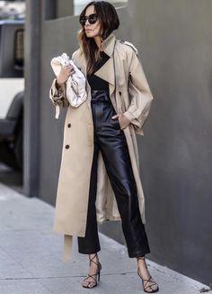 Trench Beige, Denim Trench Coat, Trench Coat Outfit, Trench Coat Style, Trench Coat Women, Leather Trench Coat Woman, Long Trench Coat, Camel Coat, Duster Coat