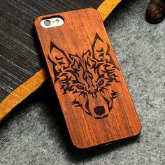 Retro PC+Wood Skull Novelty Vintage Phone Cases Cover for iPhone 6 6s SE 5S 7 7 Plus Plastic Shell