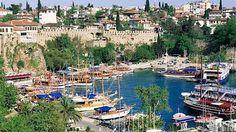 Přístav v Antalyi
