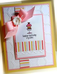 Stampin' Up! Birthday by Me, My Stamps and I