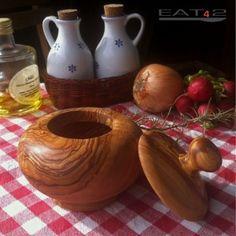 #Zuckerdose aus #Olivenholz  #Sugar #tin #Olive #wood #olivewood #wood #wooden