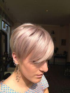 """Illumina 10/36 as a pastel toner! Absolutely amazing and reliable colour!"" -Simon Schuetz from Foster London #hair #illumina"