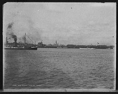 New Orleans from the harbor, 1900 Louisiana History, Louisiana Homes, New Orleans Louisiana, New Orleans History, Louisiana Plantations, Time Warp, Wonderful Picture, Waterfalls, Rivers