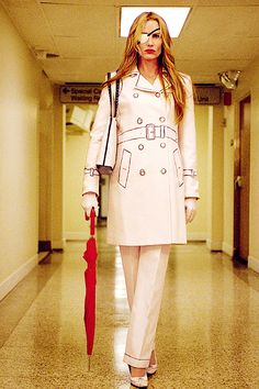 Elle Driver's Trompe-l'œil trench coat This would still be a good Halloween costume