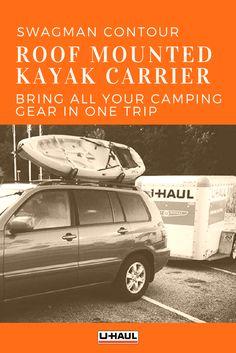 Camping with Dog Ski Rack, Kayak Rack, Camping 101, Moving Day, Roof Rack, Contour, Kayaking, Camper, Road Trip
