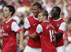 Jack Wilshere and dudes