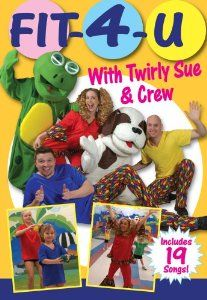 FIT – 4 – U with Twirly Sue and Crew is a children's fitness video and special events program for ages 2-10.