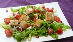 Salade saumon grenade - Simple & Gourmand