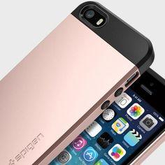 Spigen Slim Armor iPhone SE Tough Case - Rose Gold - Mobile Fun