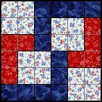 Sew Block Quilt Quilts To Be Stitched - Six patch quilt patterns. Lots of free blocks with a link to a full pattern directory Quilting Tutorials, Quilting Projects, Quilting Designs, Sewing Projects, Quilting Ideas, Quilt Block Patterns, Pattern Blocks, Quilt Blocks, Patch Quilt