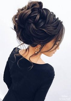These gorgeous updo wedding hairstyles with Glamour are perfect for brides every wedding season,Updos,romantic hairstyles,bridal chignon,messy bridal updo wedding Romantic Hairstyles, Wedding Hairstyles For Long Hair, Wedding Hair And Makeup, Bun Hairstyles, Hairstyles 2018, Bridal Hairstyles, Hairstyle Ideas, Hair Ideas, Bridesmaid Hair Updo