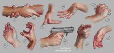 Hand Study 5 by irysching.deviantart.com on @deviantART