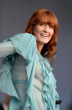Florence + the Machine at the BST Hyde Park #HowBeautifulTour - same Gucci dress she was wearing at the Bologna Concert?
