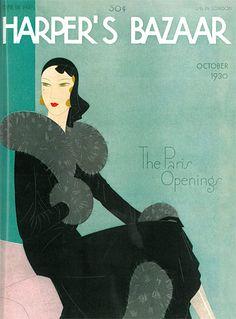 Harper's Bazaar  1930, my great grandma was a model in it