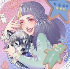 Find images and videos about art, melanie martinez and cry baby on We Heart It - the app to get lost in what you love. Mel Martinez, Melanie Martinez Anime, Melanie Martinez Drawings, Crybaby Melanie Martinez, Cry Baby, Camp Buddy, Celebrity Drawings, Queen, Cute Wallpapers
