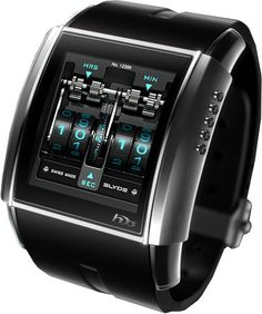 The coolest high tech watches you can buy.my guy needs this Men's Watches, Luxury Watches, Cool Watches, Watches For Men, White Watches, Diamond Watches, Unique Watches, Stylish Watches, Fashion Watches