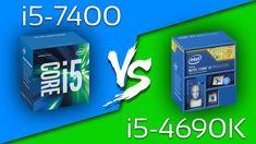 i5-7400 vs i5-4690K - Comparação