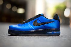 "#sneakers #nike Nike Air Force 1 Low Foamposite ""Royal"""