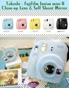 Fuji Instax Camera, polaroid cameras, film cameras, instant camera, analog, gadget, vintage, film photography, crafts, scrapbooking