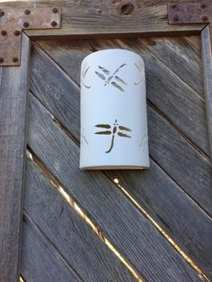 Dragonfly Dragonflies Wall Sconce Dragon fly by CustomCutLighting