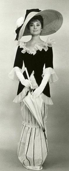 Audrey Hepburn, the Vogue icon