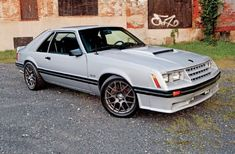 1982 Ford Mustang GT - Mach Cobra Mash-Up: Joe Bielawa was getting tired of driving the same old Fox, so he found one with a DOHC cammer. Ford Mustang Gt, Ford Mustang Fox Body, Mustang Cobra, Ford Gt, Capri, Pony Car, Pontiac Firebird, Garage, Trucks