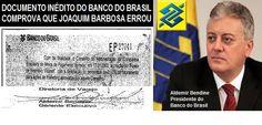BLOG DO IRINEU MESSIAS: MANIPULAÇÕES DE JOAQUIM BARBOSA: Documento inédito...