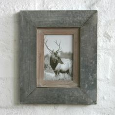 Biggie Best Single Metal and Wood Photo Frame | ACHICA