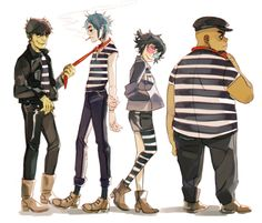 2d and noodle   Tumblr