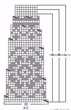 Жаккардовый узор для круглой кокетки спицами. Схемы для кокеток из жаккарда спицами | Шкатулка рукоделия. Сайт для рукодельниц. Knitting Charts, Knitting Patterns, Crochet Patterns, Filet Crochet, Knit Crochet, Icelandic Sweaters, Mittens, Mosaic, Cross Stitch