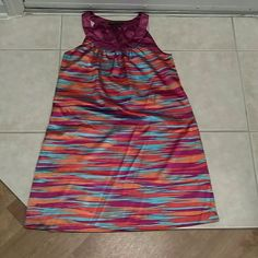 BCBG dress BCBG dress. XS. Lots of pretty colors. Very silky. You can dress it up or dress it down. Just lovely. BCBGMaxAzria Dresses Mini
