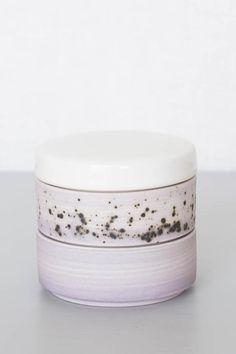 Ben Fiess Stacking Vessel - Lilac Grey