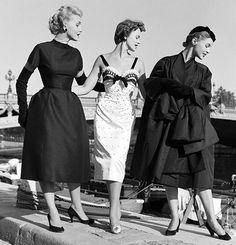 Fashion by Christian Dior, 1953.