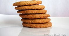 Butternut snap cookies    Butternut snap cookies were invented in Australia, I think. Unlike ANZAC Cookies  and pavlova whose origin is...