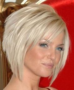 Fryzury krótkie na boba Short bob hairstyles Related posts:FEMALE HAIR CUTTINGS hair cuts for women over 50 fine medium lengths over 50 ideasshort hairstyles for natural hair Short Bob Hairstyles, Hairstyles Haircuts, Hairstyle Short, Concave Bob Hairstyles, Hairstyle Pictures, Wedge Hairstyles, Style Hairstyle, Hairstyle Ideas, Sarah Harding Hair