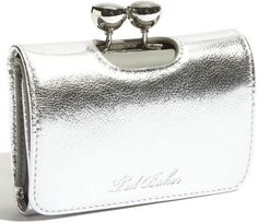 Ted Baker Narlah Bobble Matinee French Wallet in Silver