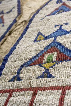 plain indian beadwork | indian arts september 16th american indian art plains beadwork ...
