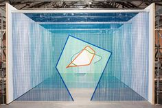 Steel+Curtain+Installations+by+Daniel+Steegmann+Mangrane.
