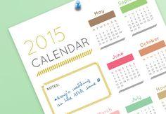 Create a Retro Wall Calendar  in Adobe InDesign