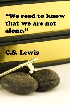 """""""We read to know that we are not alone.""""  -- C.S. Lewis – On original, stock image by Florence McGinn – Explore Reading Rockets' Top 12 Comprehension Apps, and note that FIVE reading apps are FREE.  Learn more at http://www.examiner.com/article/there-s-an-app-for-that-free-apps-to-build-reading-comprehension"""