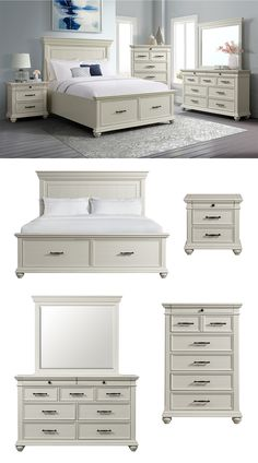 The Slater Bedroom Collection will update any space with its fashion-forward functionality. Add the option of additional storage to your room with the captain's bed that provides ample storage space in the footboard drawers. Casual transitional styling lends versatility to the placement of the collection in a number of bedroom settings. Shop the Slater Collection online or in-store at Great American Home Store in Memphis, TN, and Southaven, MS. #shopgahs #bedroom #storagebed #bed #masterbedroom