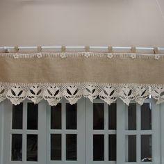 Bandô para janela em juta  www.gostodefazer.com