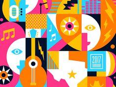 Music Fest by Steve Wolf #Design Popular #Dribbble #shots