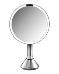 """$200 8""""+Sensor+Makeup+Mirror+by+simplehuman+at+Neiman+Marcus"""