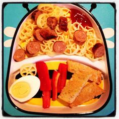 Easy Toddler Food: Toddler Dinner with Garlic Bread