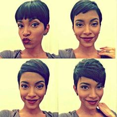 Pixie Cut for Black Girls