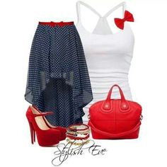 Cute skirt.. Love this outfit.. The shoes are adorable