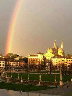 Arcobaleno nostra città #Padova